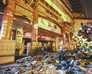 大观园南门仿古式斗拱深夜横地上商场方:是拆除